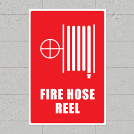 FIRE HOSE REEL SIGNS
